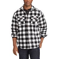 Men's Chaps Classic-Fit Microfleece Shirt Jacket