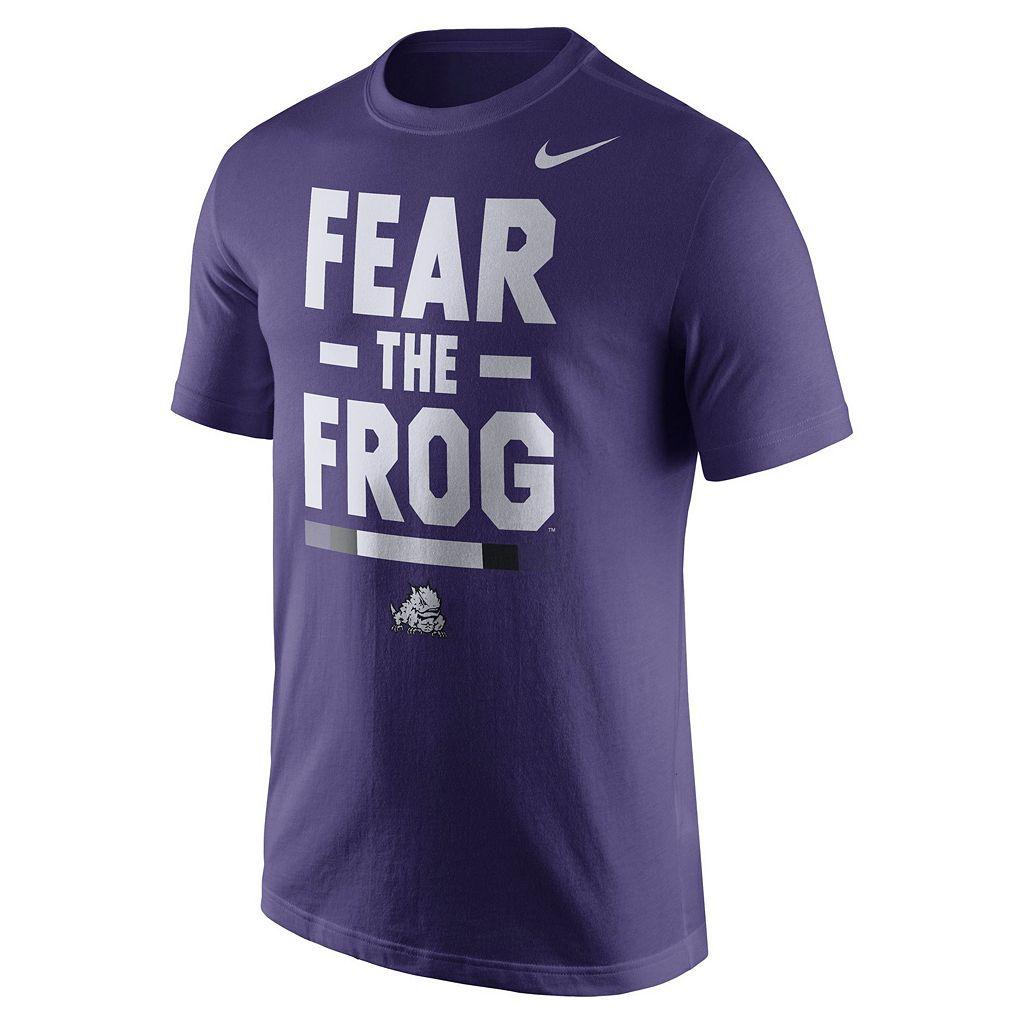 Men's Nike TCU Horned Frogs Local Verbiage Tee