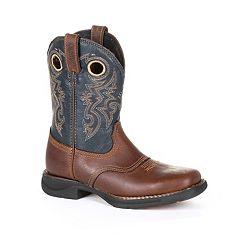 Rocky Saddle Kids Waterproof Western Boots
