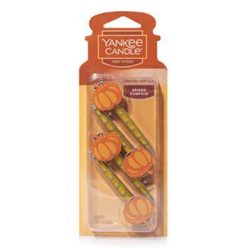 Yankee Candle Spiced Pumpkin Car Vent Stick 4-piece Set