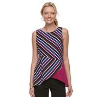 Women's Dana Buchman Pointed Hem Sleeveless Top