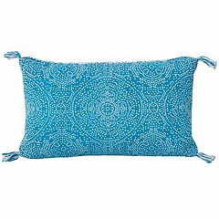 Thro by Marlo Lorenz Medallion Reversible Oblong Throw Pillow