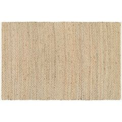 Couristan Nature's Elements Gravity Chevron Jute Blend Rug