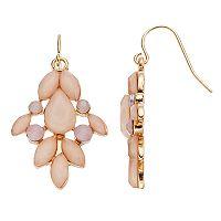LC Lauren Conrad Geometric Nickel Free Kite Earrings