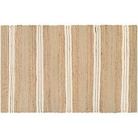 Couristan Nature's Elements Ray Striped Jute Blend Rug
