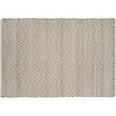 Couristan Nature's Elements Foothills Chevron Jute Blend Rug