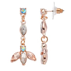 LC Lauren Conrad Marquise Nickel Free Linear Earrings