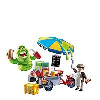 Playmobil Slimer & Hot Dog Stand Playset - 9222