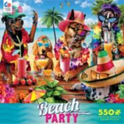 Ceaco 550-Piece Beach Party Jigsaw Puzzle