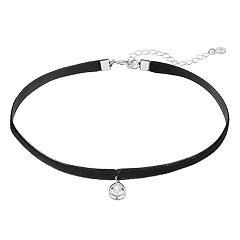 LC Lauren Conrad Teardrop Charm Choker Necklace
