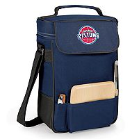 Picnic Time Detroit Pistons Duet Insulated Wine & Cheese Bag
