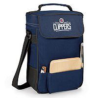 Picnic Time Los Angeles Clippers Duet Insulated Wine & Cheese Bag