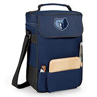 Picnic Time Memphis Grizzlies Duet Insulated Wine & Cheese Bag