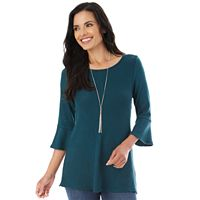 Women's Apt. 9® Bell Sleeve Swing Top