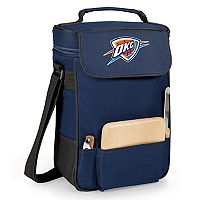 Picnic Time Oklahoma City Thunder Duet Insulated Wine & Cheese Bag