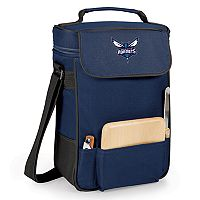 Picnic Time Charlotte Hornets Duet Insulated Wine & Cheese Bag