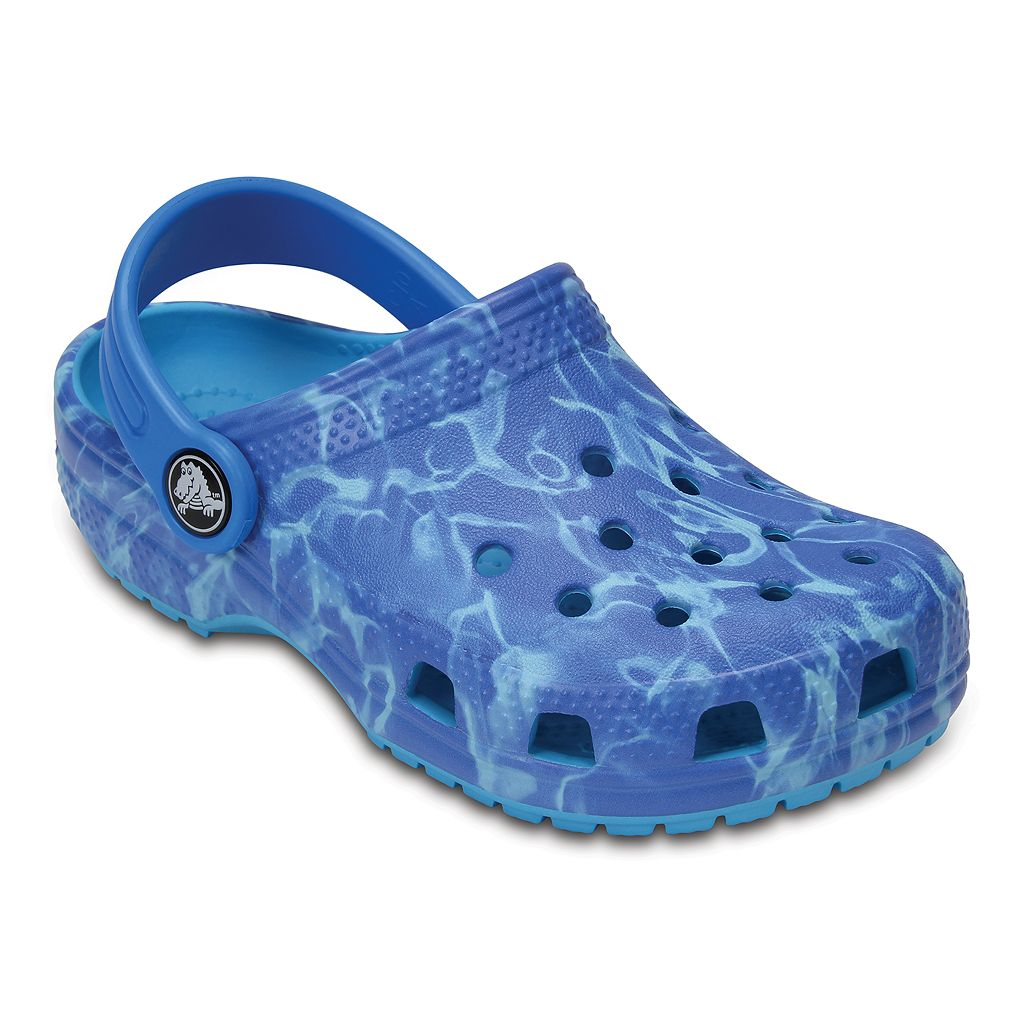 Crocs Classic Graphic Kids Clogs
