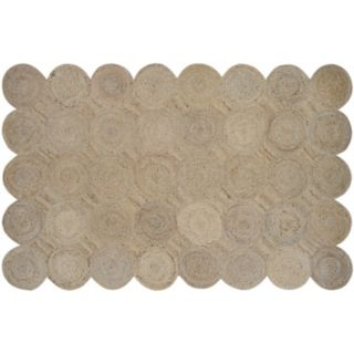 Couristan Nature's Elements Henge Geometric Jute Blend Rug