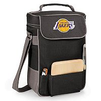 Picnic Time Los Angeles Lakers Duet Insulated Wine & Cheese Bag