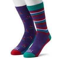Men's Funky Socks 2-pack Novelty Socks
