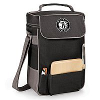 Picnic Time Brooklyn Nets Duet Insulated Wine & Cheese Bag