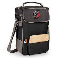 Picnic Time Portland Trail Blazers Duet Insulated Wine & Cheese Bag