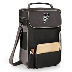 Picnic Time San Antonio Spurs Duet Insulated Wine & Cheese Bag