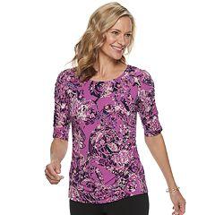 1a1001a095f7f Womens Dana Buchman Tunics Shirts   Blouses - Tops