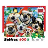 Ceaco 400-piece Holiday Dog Selfies Together Time Puzzle