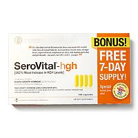 SeroVital-hgh Dietary Supplement with Bonus 7-Day Supply