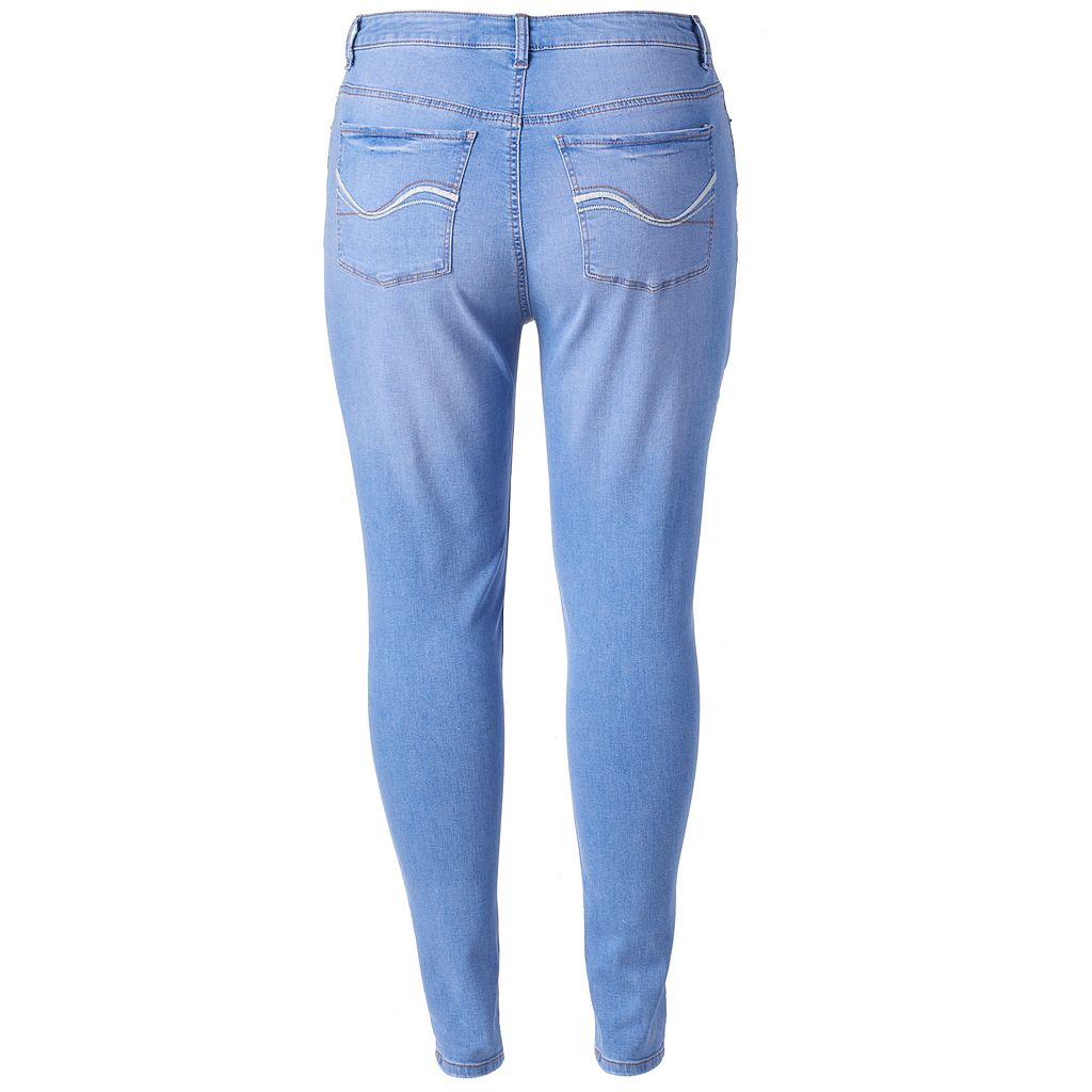 Juniors' Plus Size SO® High-Waisted Jeggings