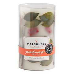 Matchless Candle Co. PushWick 3' x 6' Unscented Faux Berry Flameless LED Candle