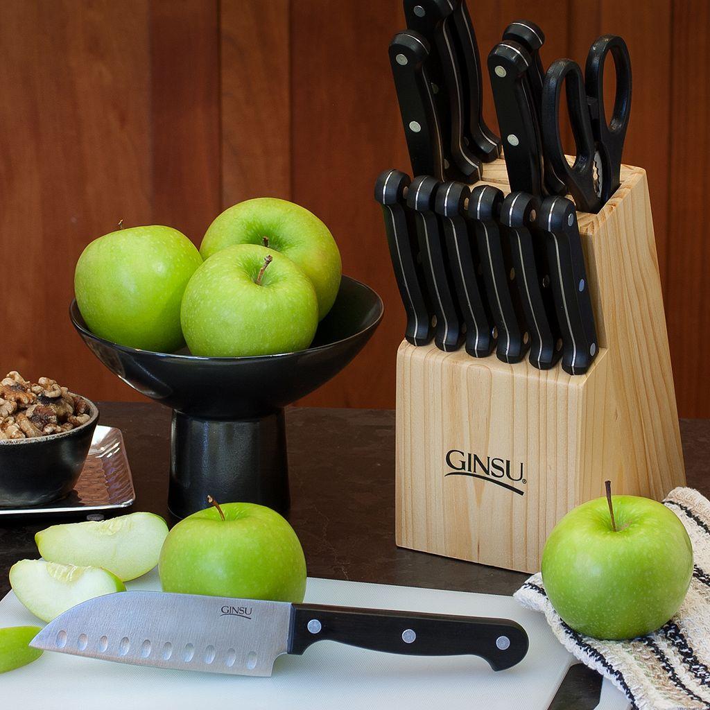 Ginsu 18-pc. Essentials Combo Cutlery Set