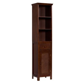 Elegant Home Fashions Cane Linen Tower