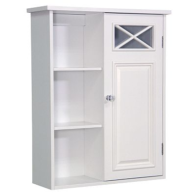 Elegant Home Fashions Dawson Single-Door Wall Cabinet