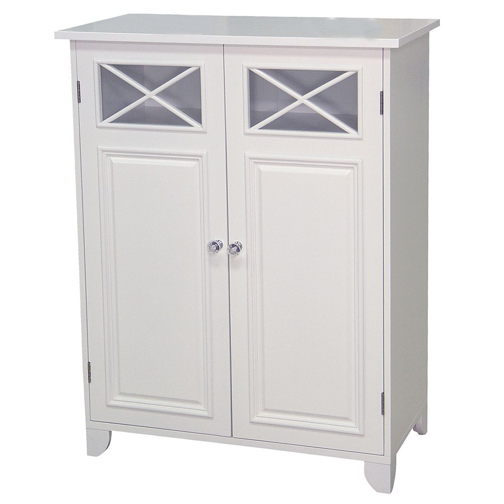 Incredible Elegant Home Fashions Dawson 2 Door Floor Cabinet Home Interior And Landscaping Ologienasavecom