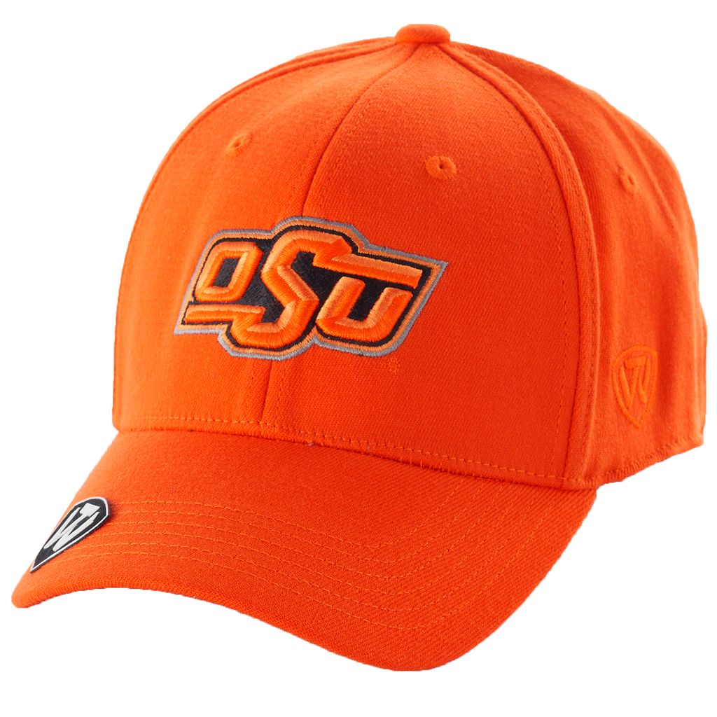 Adult Top of the World Oklahoma State Cowboys Premium Collection One-Fit Cap