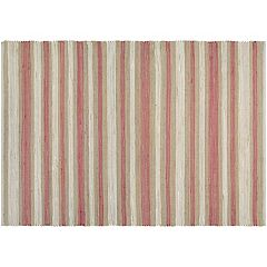 Couristan Nature's Elements Awning Stripes Jute Blend Rug