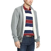 Men's Chaps Classic-Fit Baseball Sweater Jacket