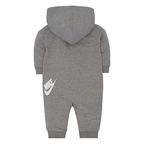 Baby Girl Nike Gray Futura All Day Play Overall