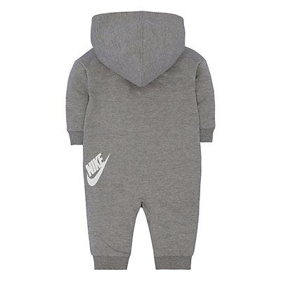 Baby Girl Nike Gray Futura All Day Play Overall