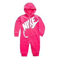 Baby Girl Nike Pink Futura All Day Play Overall