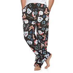 Men's Rudolph The Red-Nosed Reindeer Bumble, Rudolph & Santa Lounge Pants