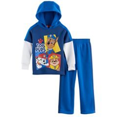 Toddler Boy Paw Patrol Chase, Rubble & Marshall Hoodie & Pants Set