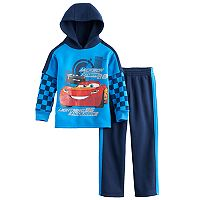 Disney / Pixar Cars 3 Toddler Boy 2 pc Lightning McQueen Hoodie & Pants Set