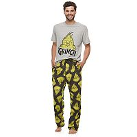 Men's Dr. Seuss Grinch Tee & Lounge Pants Set