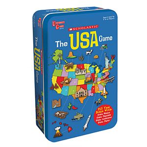 Scholastic USA Tin by University Games