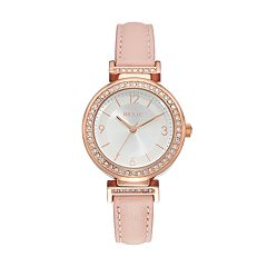 Relic Women's Brooke Crystal Reversible Leather Watch