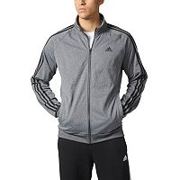 Big & Tall adidas Essential Heathered Tricot Track Jacket