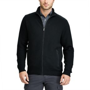 Men's Chaps Classic-Fit Zip-Front Cardigan Sweater